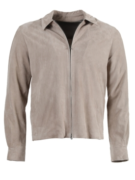 Harvey Zipp Shirt Jacket TAUPE