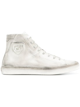 Saint Laurent - Moon Plus High Sneakers - Men