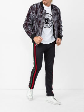 Saint Laurent - Moon Plus High Sneakers - Men