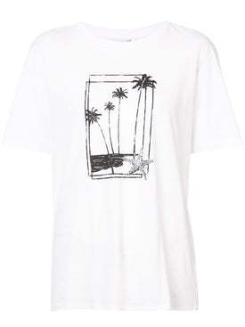 Saint Laurent - Palm Tree Print T-shirt - Men