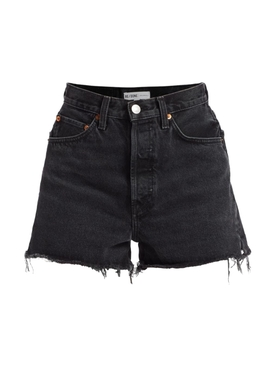 50s cutoff denim shorts