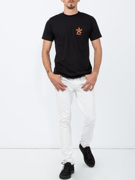 Sss World Corp - Skater Tee-shirt Pentagram Print - Men