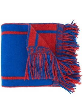 The Elder Statesman x NBA frayed hem scarf
