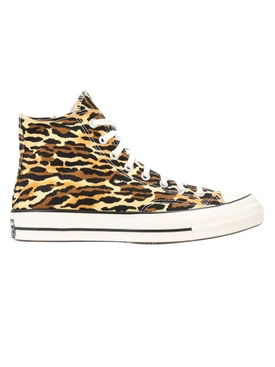 x INVINCIBLE x Wacko Maria High-top leopard sneakers