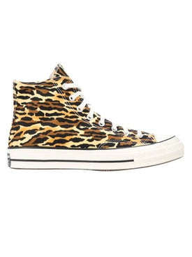 Converse - High-top Leopard Print Sneakers - Men