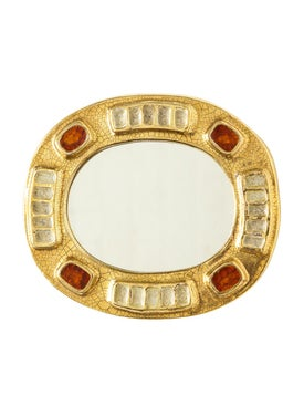 This Place - Antique Ceramic Mirror - Women