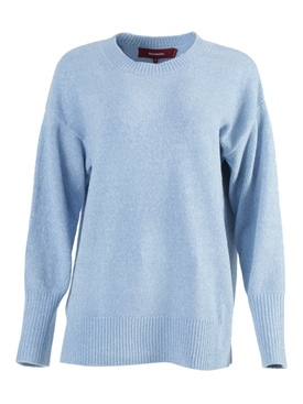 Light Blue Nasim Crew-neck Sweater