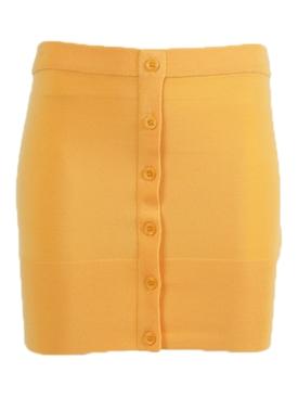 Orange Naila Strapless Top