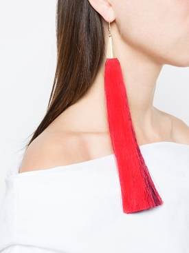 fringed earring