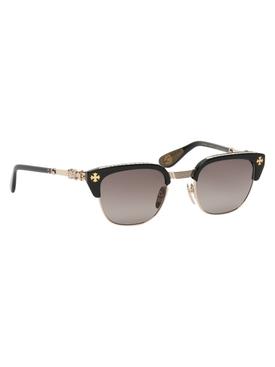 Bonennoisseur I Sunglasses Black/Gold Plated