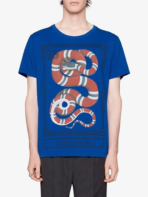 be6b39f74d26 Gucci - Kingsnake Print T-shirt - Men