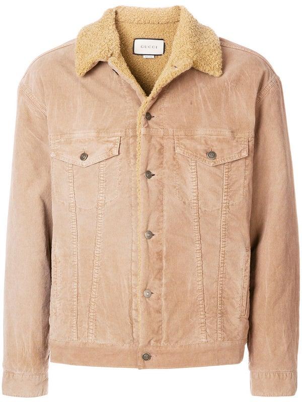 eeed32fbf9609b Gucci - Embroidered Corduroy Jacket - Men