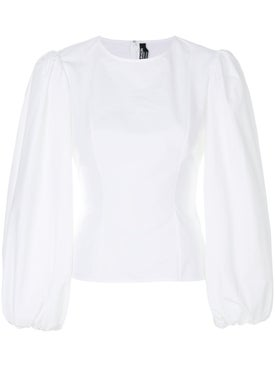 Calvin Klein 205w39nyc - Puff Sleeve Blouse White - Women