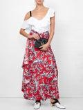 Proenza Schouler - Ruffle One-shoulder Top White - Women