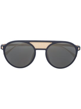 Mykita - Damson Double Bridge Round Sunglasses - Men