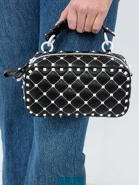 Valentino - Rockstud Leather Cross-body Bag - Women