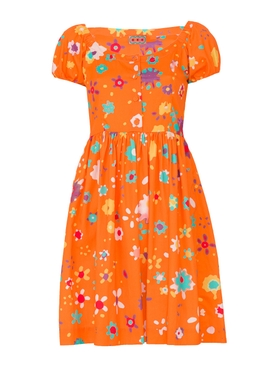 Coconut grove dress ORANGE