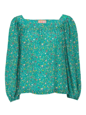 the bird street blouse GREEN