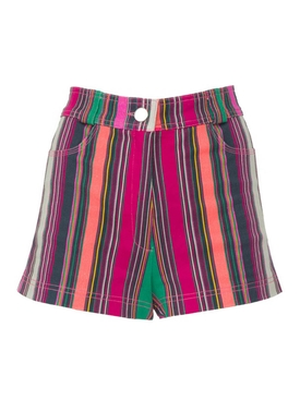 Collins Avenue striped shorts