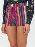 Lhd - Collins Avenue Striped Shorts - Women