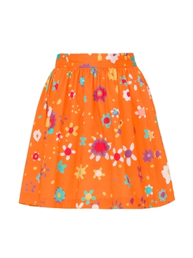 Raleigh printed mini skirt