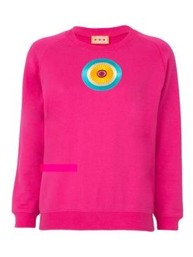 Pink logo sweatshirt