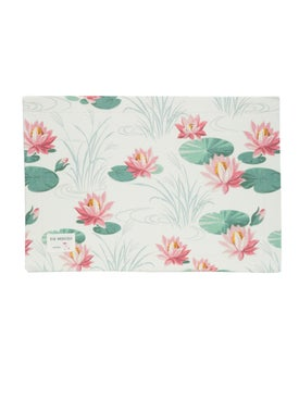 The Webster - Wallpaper Print Placemat Set - Flatware