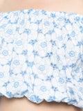 Lisa Marie Fernandez - Leandra Crop Top Blue - Women
