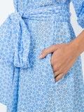 Lisa Marie Fernandez - Laure Midi Eyelet Dress Blue - Women