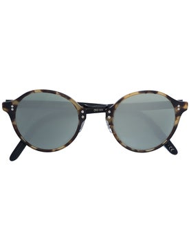 Oliver Peoples - Round Tortoise Shell Glasses - Women