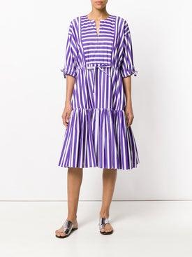 Maison Rabih Kayrouz - Striped Flared Dress - Women