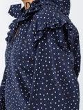 Vetements - Polka Dot Biker Blouse Blue - Women