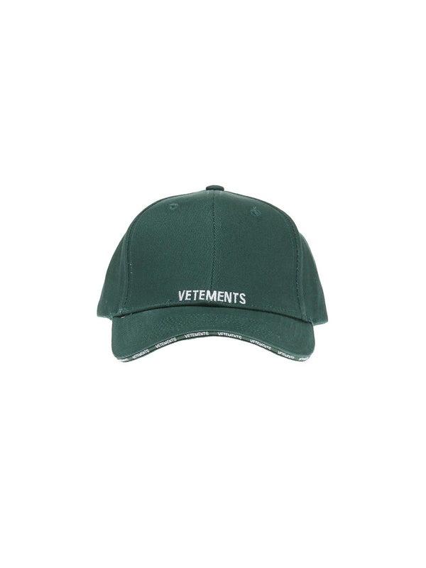 8e2fe4079c3e31 Vetements - Vetements Logo Cap Green - Women