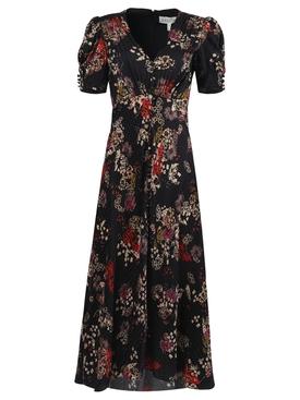LEA FLORAL MAXI DRESS