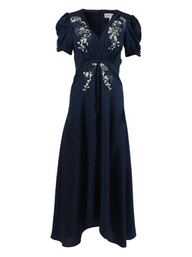 Lea Maxi Dress, Navy