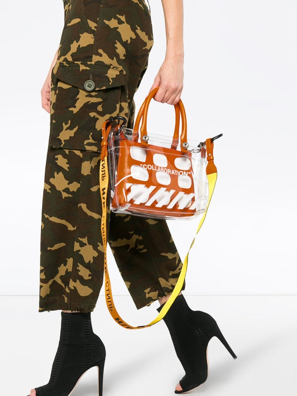 eaf43636214a4b Heron Preston - Heron Preston X Off-white 'collaboration' Mini Tote Bag -