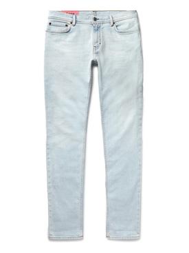 light wash slim fit jeans BLUE