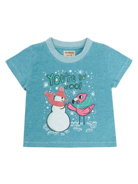 The Webster Kids - You're So Cool Tee Light Blue - Women