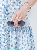 Acne Studios - White Mustang Sunglasses - Women