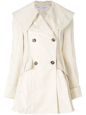 J.w. Anderson - Double Breasted Coat - Women