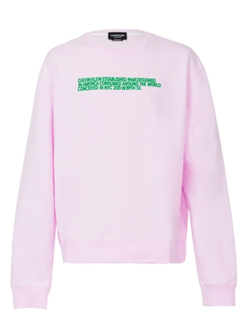 unisex pink sweatshirt