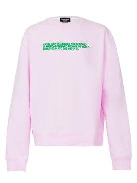 Calvin Klein 205w39nyc - Unisex Pink Sweatshirt - Women