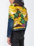 Dsquared2 - Floral Printed Denim Jacket - Men