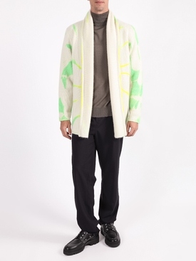 Multicolored tie-dye jacket YELLOW/GREEN