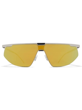 Bernhard Willhelm x Mykita Paris yellow sunglasses