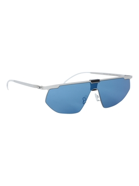 Silver and Blue Paris Sunglasses