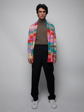 Italy Smoking Jacket Multicolor