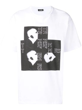 Raf Simons - Bald Head Transformers T-shirt - T-shirts