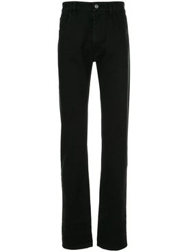 Raf Simons - Laminated Back Zipper Jean - Men