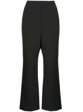 classic high-waisted trousers